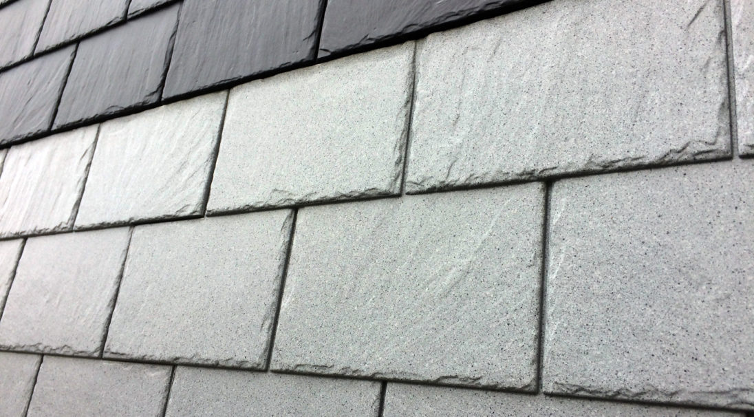Carea mineral look SLATE, for a mineral facade (wall cladding with or without subframe, weatherboarding)