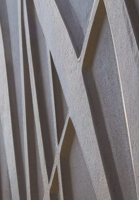 Carea mineral look VEGETAL, for an organic facade (wall cladding with or without subframe, weatherboarding)