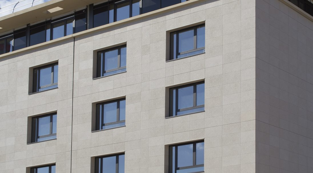 Aix-en-Provence Hotel Marriot rainscreen cladding