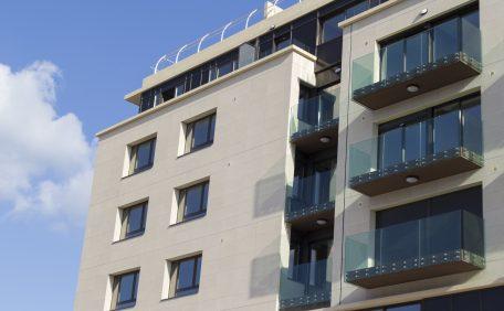 Aix-en-Provence Hotel Marriot rainscreen cladding