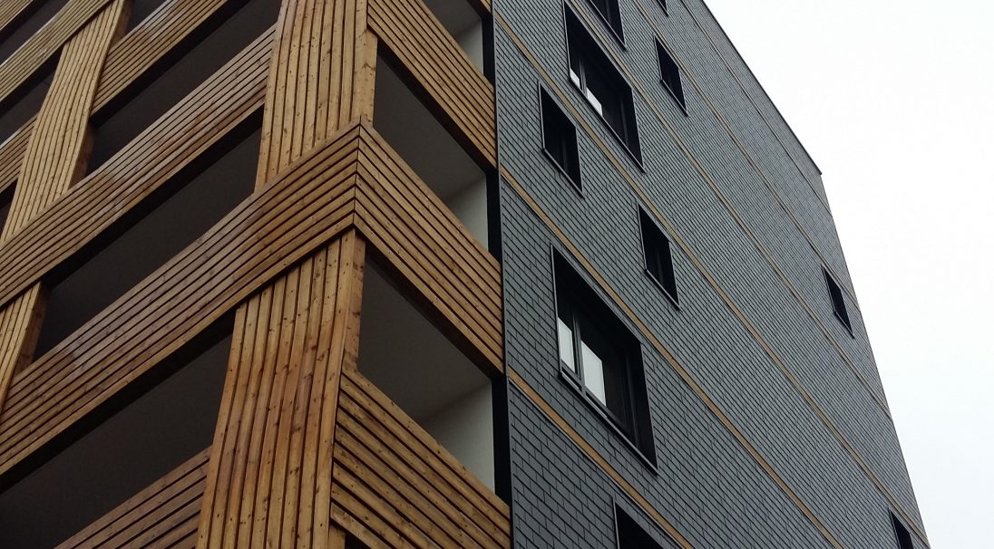 Housing rainscreen cladding without subframe (CWoS)