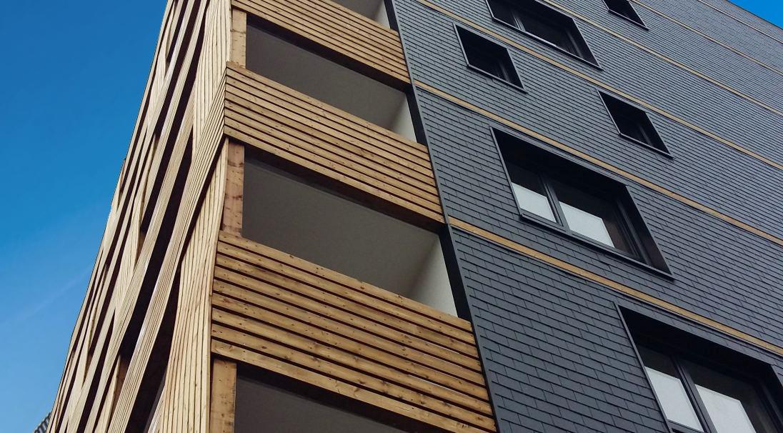 Floréal apartment block, France