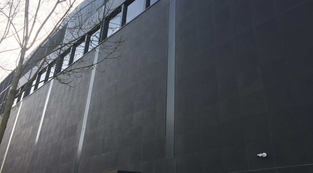 Location: Nantes, France,  Architect: Jean Nouvel,  Construction type: renovation,  Installation system: wall cladding with subframe (CWS),  Product: RIVEN