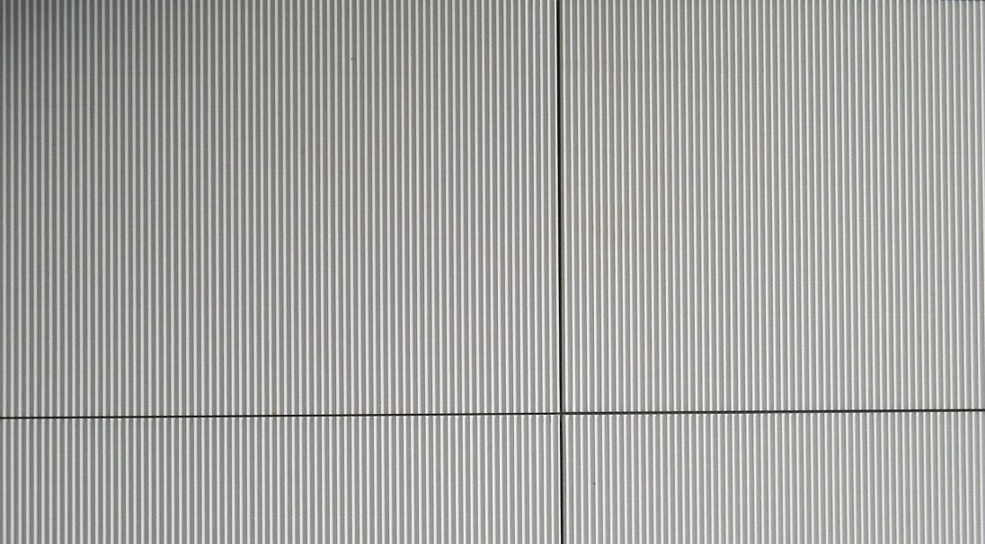Carea mineral look TAÏGA, for a graphic facade (wall cladding with or without subframe, weatherboarding)