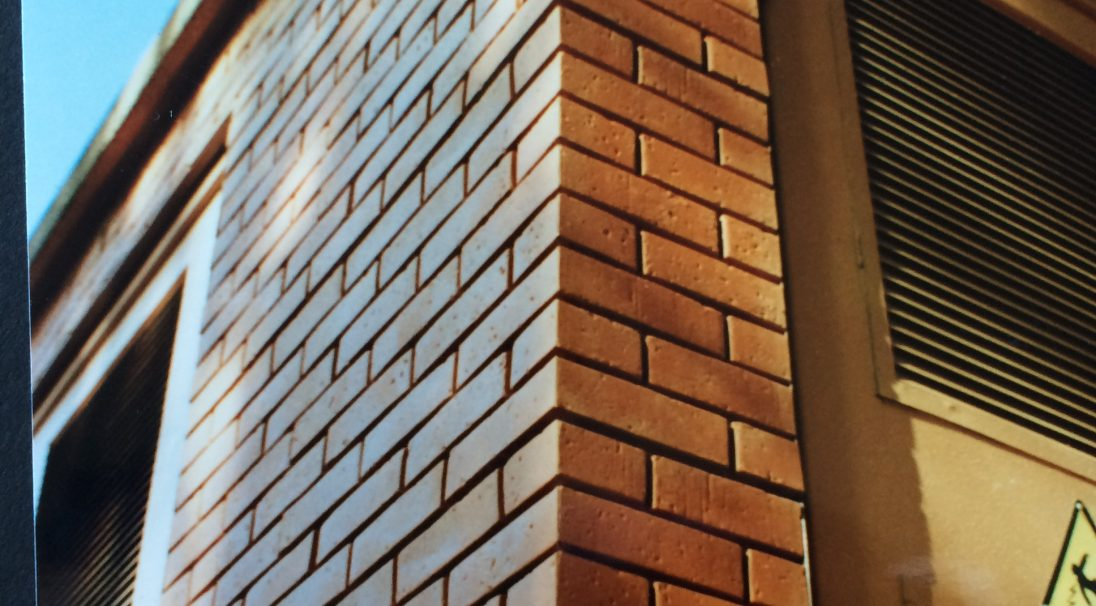 Rainscreen cladding without subrame, BRICK look