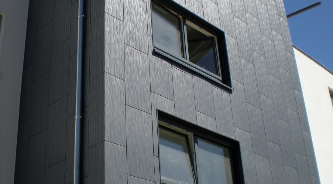 Senior tourist residence rainscreen cladding