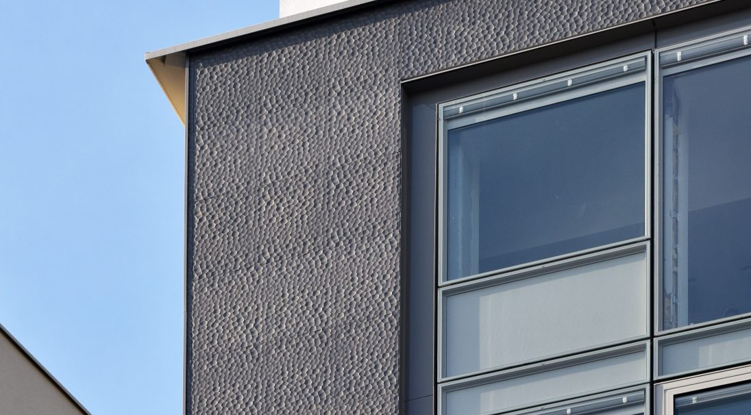 BFM head office rainscreen cladding