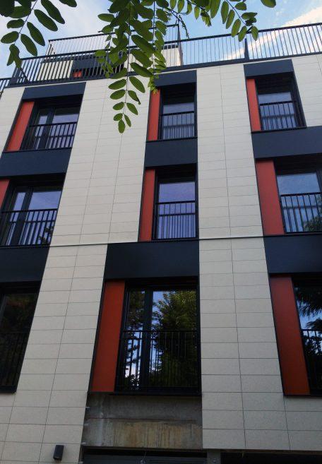 Villa Brune residence rainscreen cladding