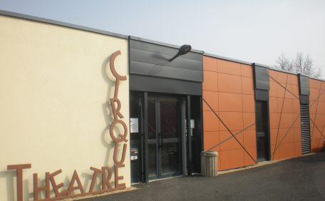 Niort theater rainscreen cladding