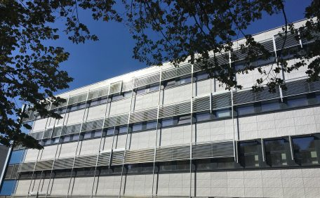 Poitiers University rainscreen cladding