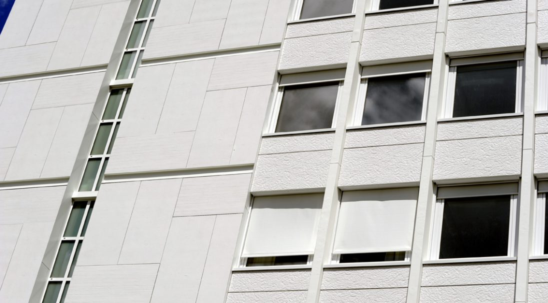 Sèvres hospital rainscreen cladding with subframe (CWS)