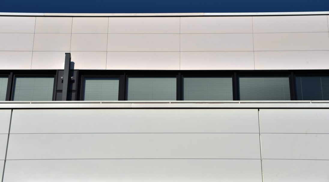Location: Saint-Denis (France),  Architects: Thual Buret office,  Construction type: new build,  Installation system: wall cladding with subframe (CWS),  Product: MATT