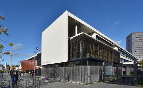 Pauline Rolland High School rainscreen cladding