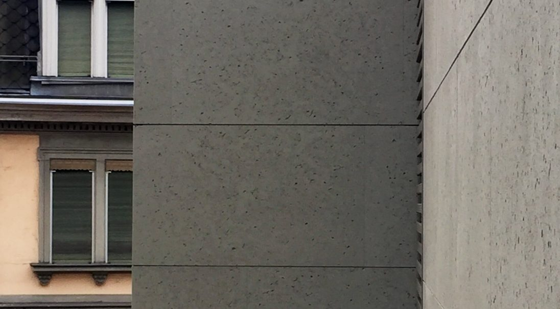 Zurich University rainscreen cladding