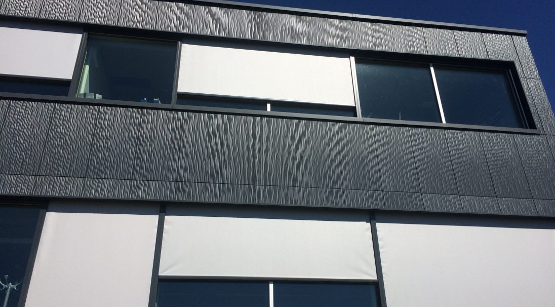 Synova facilities rainscreen cladding
