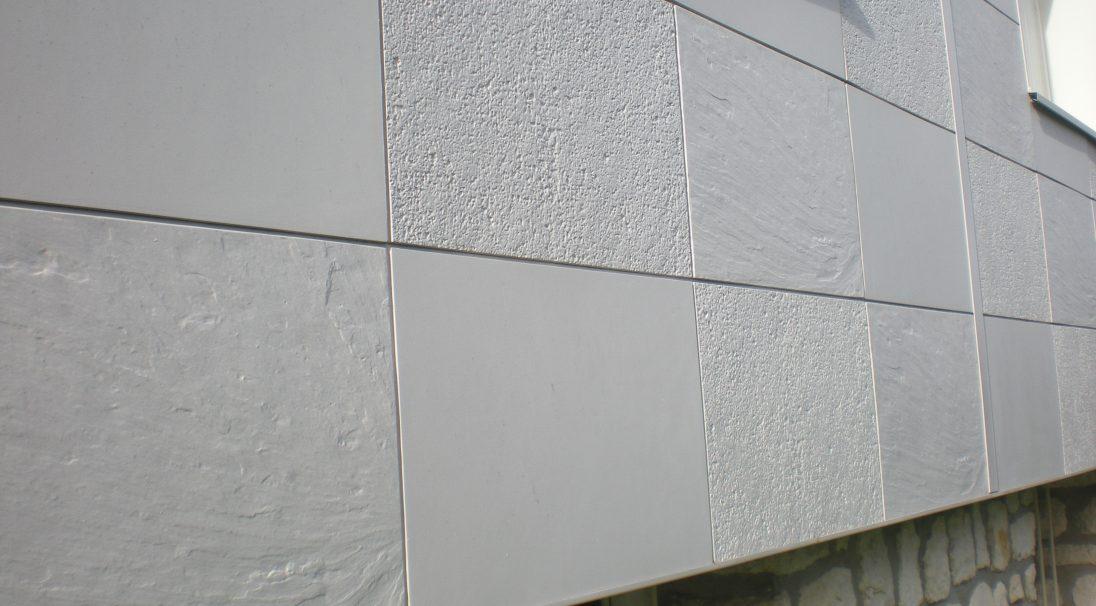 Chaudronne residence rainscreen cladding