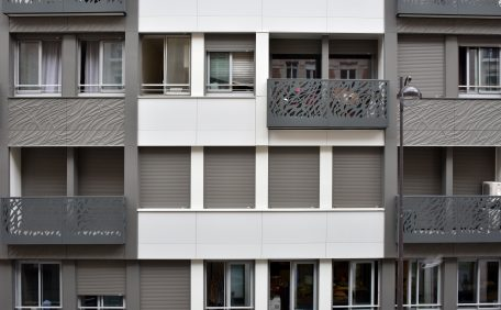 Ponthieu Street housing block, Paris