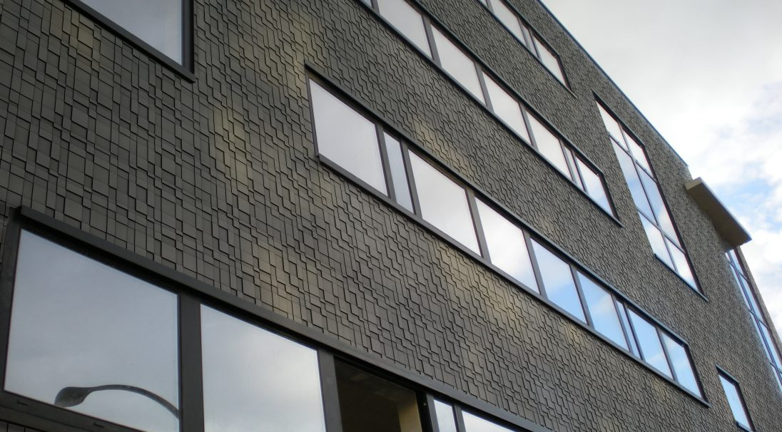 Offices rainscreen cladding