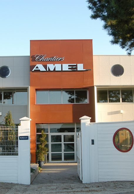 Amel shipyard rainscreen cladding