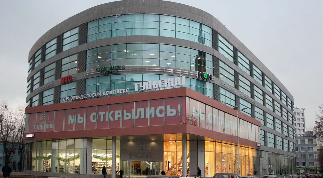 Mall in Tulsky, Russia