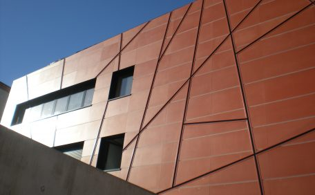 Jean Lacanuet Secondary school rainscreen cladding