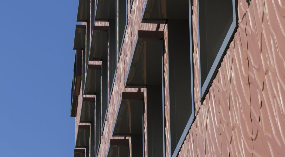 Mistral Secondary School rainscreen cladding