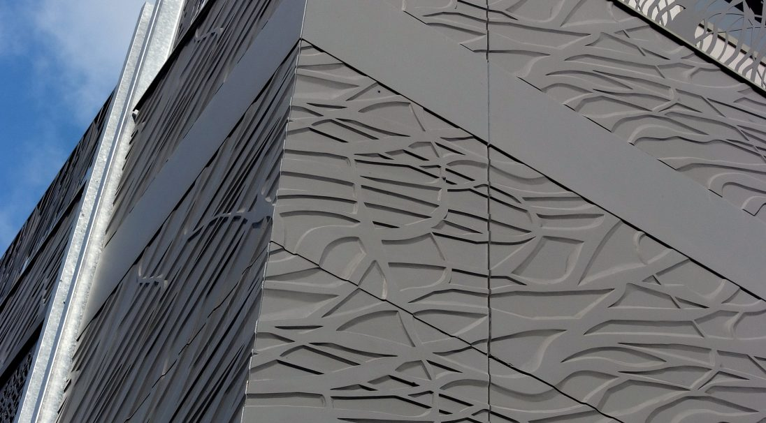 Hotel Artisanal rainscreen cladding