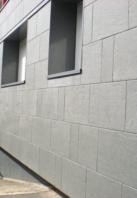 Pavé Blanc residence rainscreen cladding