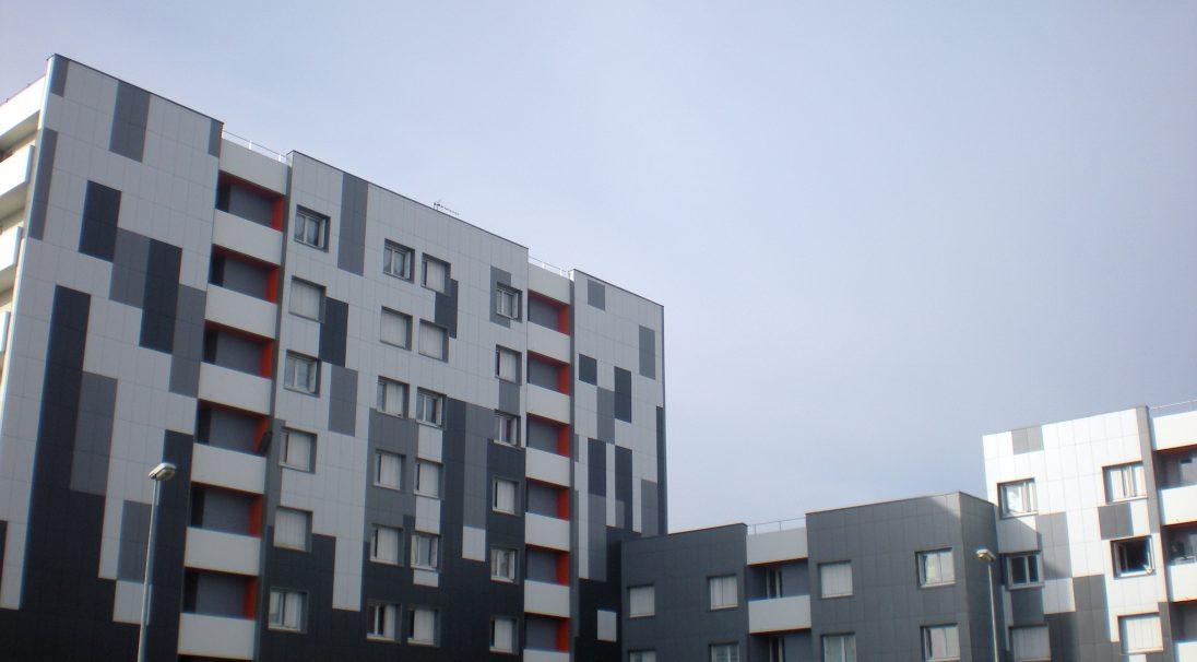Bretagne 3 residence rainscreen cladding