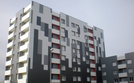 Bretagne 3 housing block, France