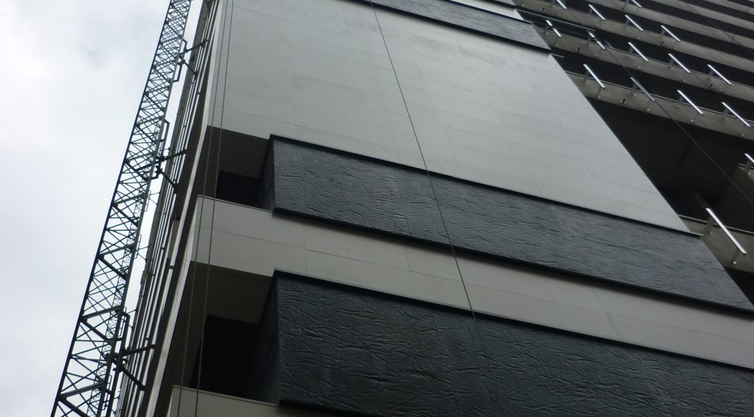 Location: Paris (France),  Construction type: renovation,  Installation system: wall cladding with subframe (CWS),  Products: SMOOTH MATT & RHODES