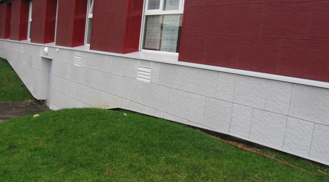 Outreau housing rainscreen cladding