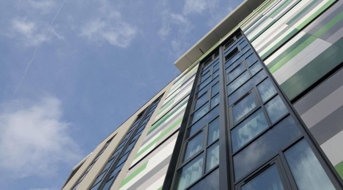 Ronald McDonald Children's Hospital rainscreen cladding