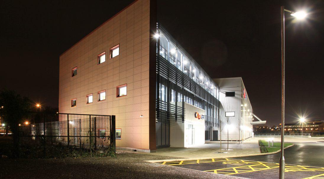 Liverpool Kays Medical hospital rainscreen cladding