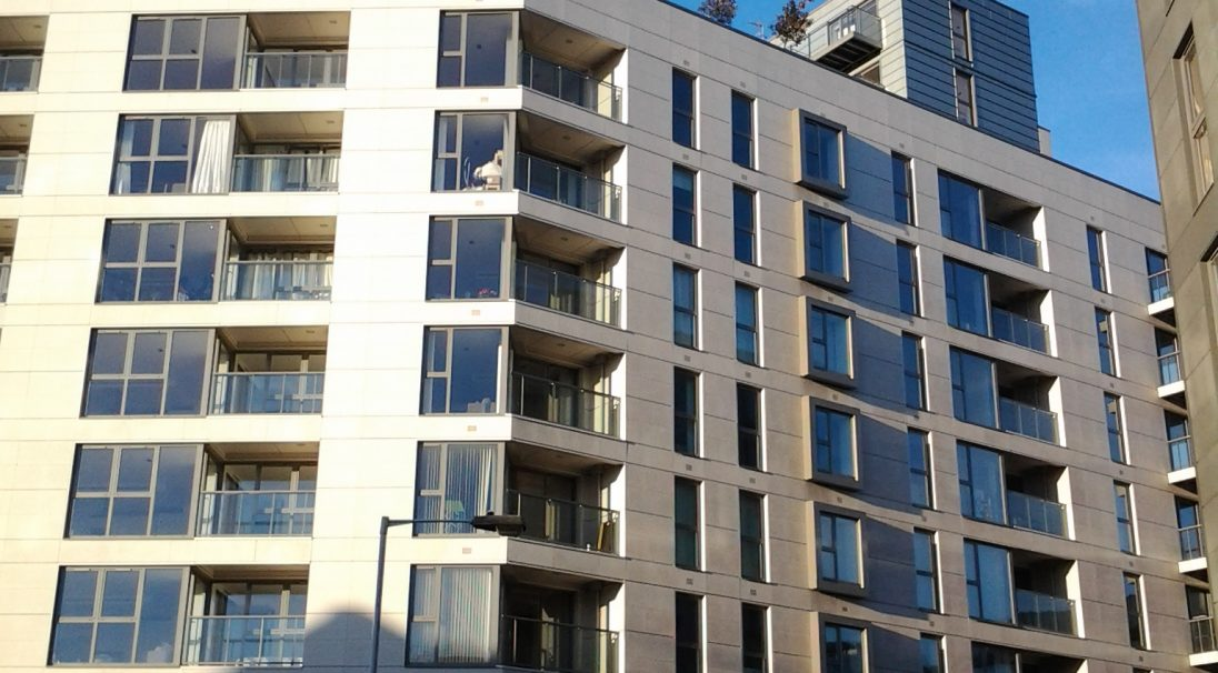 Location: London,  Architect: Stockwool Architecture,  Installation system: wall cladding with subframe (CWS),  Product: RIVEN