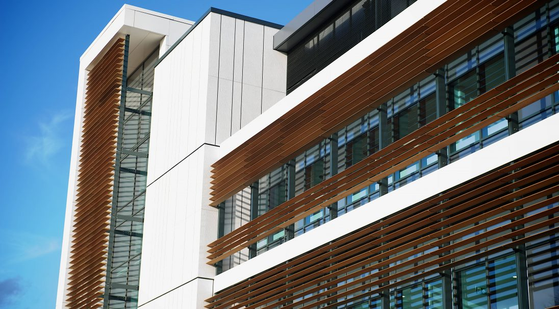 Manchester Spire Hospital rainscreen cladding