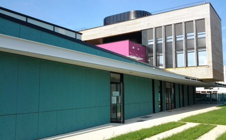 Albert Camus school rainscreen cladding
