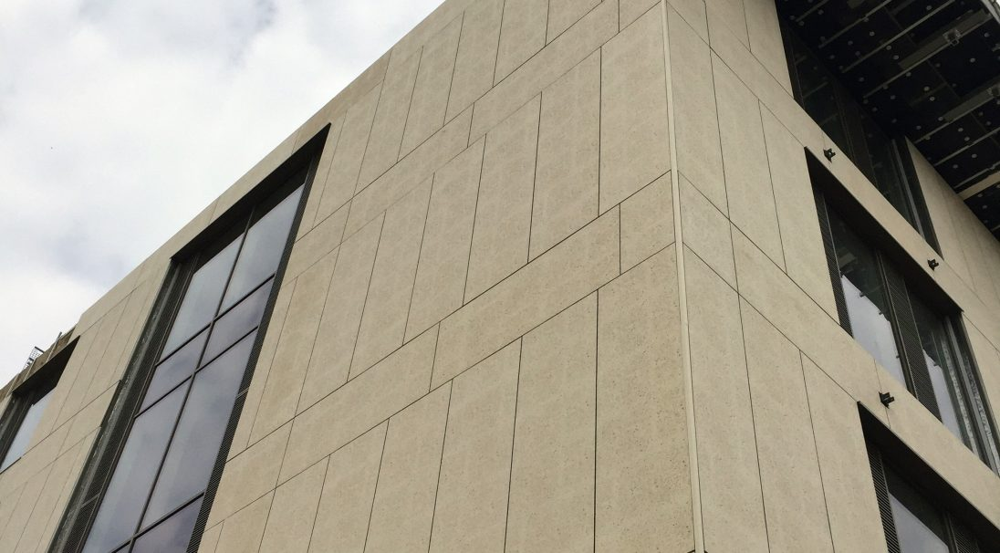 Location: Northampton,  Architect: Leach Rhodes Walker,  Construction type: new build,  Installation system: wall cladding with backing structure (CWB),  Products: SHELL