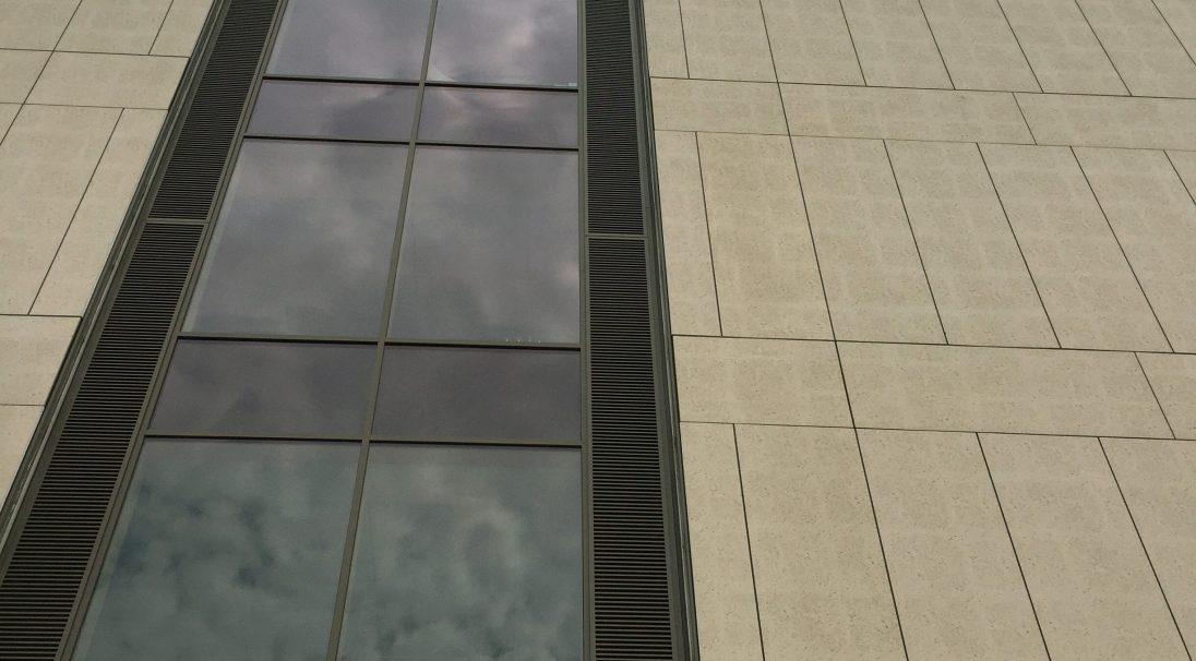 Northampton University rainscreen cladding