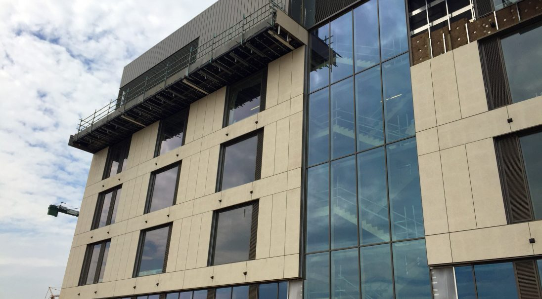 Northampton University rainscreen cladding