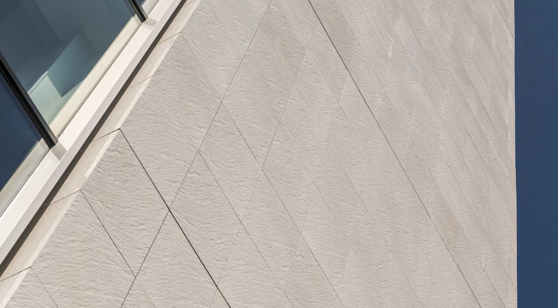 John Lewis retail store rainscreen cladding in Exeter