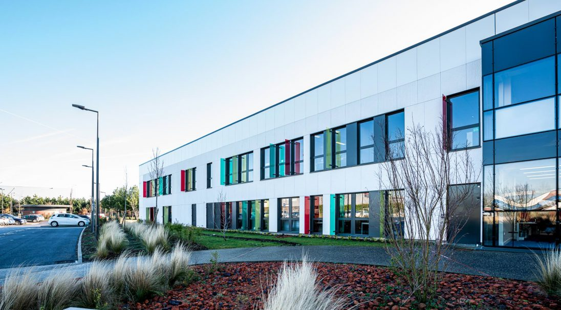 Crédit Agricole head office rainscreen cladding