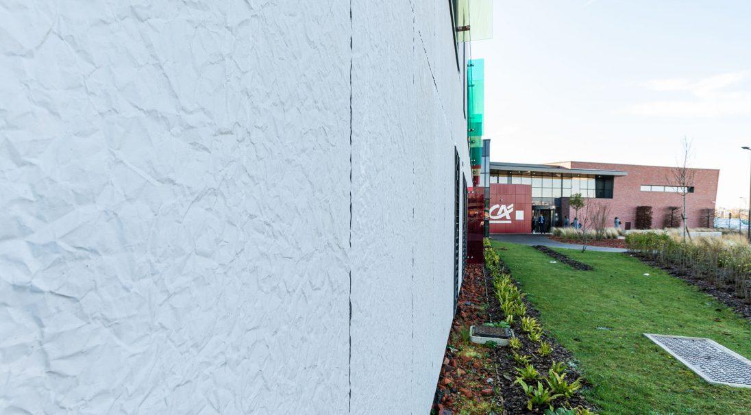 Crédit Agricole head office rainscreen cladding