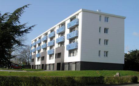 Kerlédé housing, France