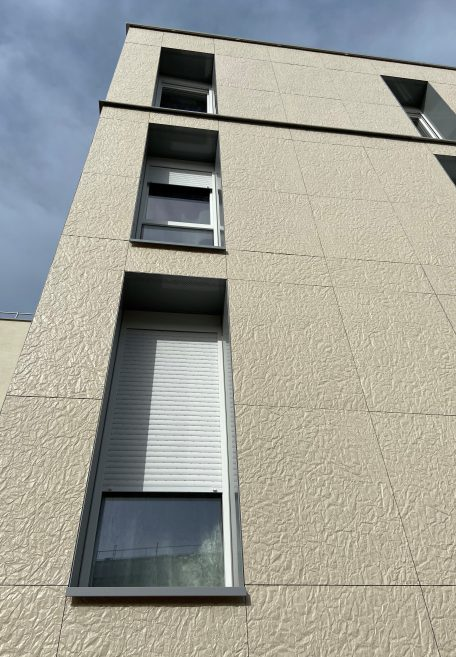 Folie Jeannot housing, France - Cladding without subframe (CWB)