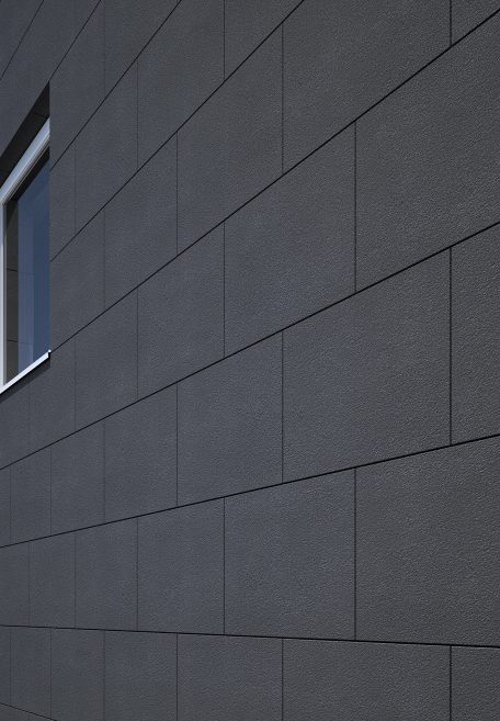 Carea facade: head office of a famous facade company - Cladding without backing structure