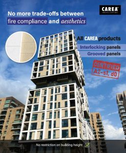 Fire compliance facade