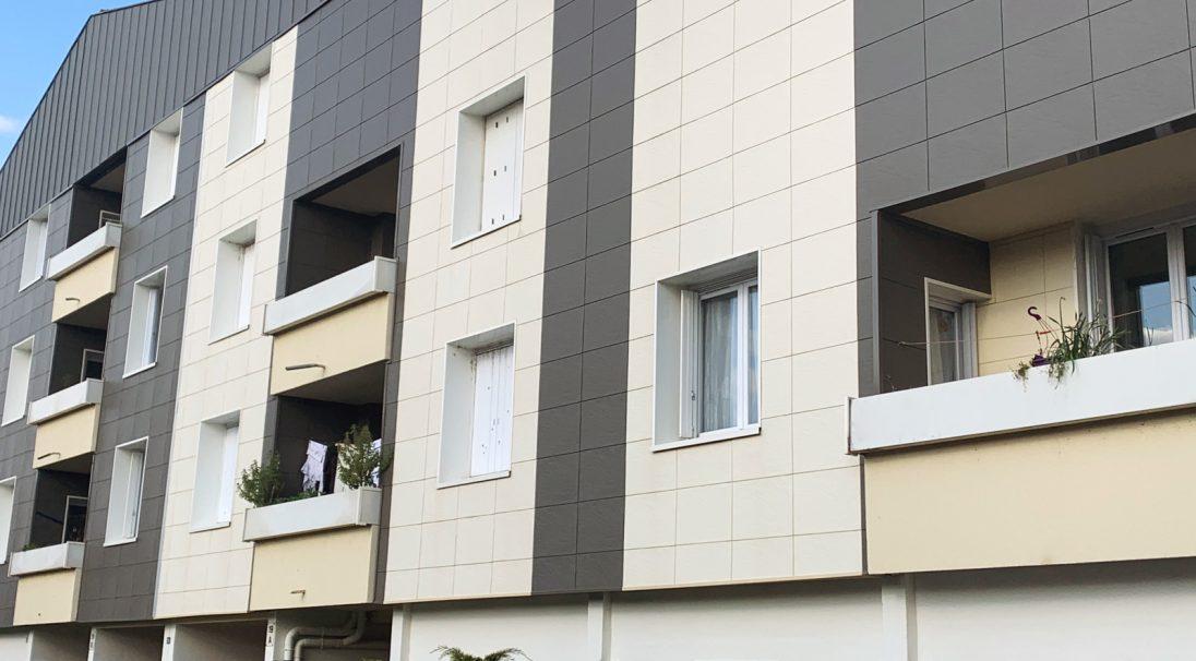Barlete residence - Agen (France) - Cladding without subframe (CWB)